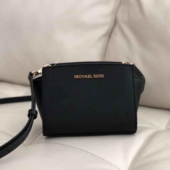 1cb2cc862b4afe MICHAEL Michael Kors Bags   Michael Kors Saffiano Selma Mini ...